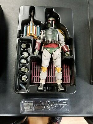 Hot Toys BOBA FETT Star Wars Return of the Jedi 1/6 Figure MMS312 PREOWNED