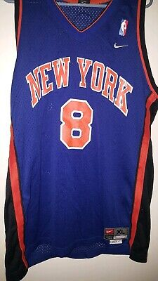 44f1db6c455 100% Authentic Latrell Sprewell Vintage Nike Knicks Jersey Size XL Mens