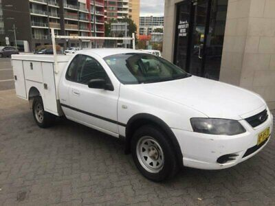2007 Ford Falcon BF MkII RTV White Automatic 4sp A Cab Chassis