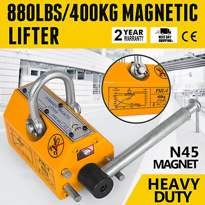 400KG Permanent Magnetic Lifter Cylinders Lifting Steel Sheets