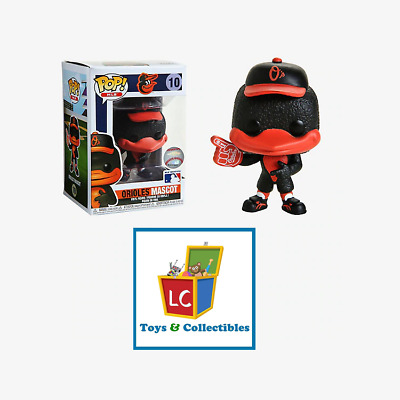 Funko POP - Sport - MLB - The Oriole Bird #10 - Baltimore Oriole Mascot - Random