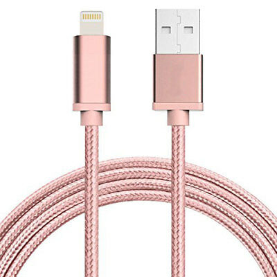6ft Nylon Braided 8 pin IPhone charger lighting to USB Cable for iPhone