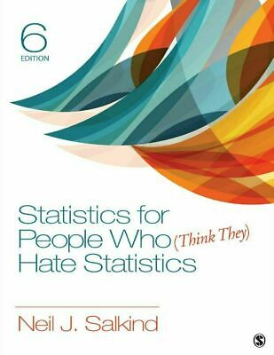 Statistics for People Who (Think They) Hate Statistics 6th Edition PDF *INSTANT*