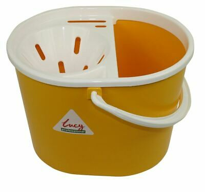Lucy Extra Tough Mop Bucket With Sieve - Yellow