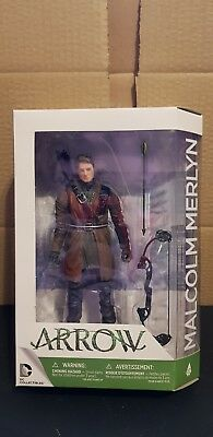 Dc Collectibles Arrow The Tv Series Action Figure #12 Malcolm Merlyn