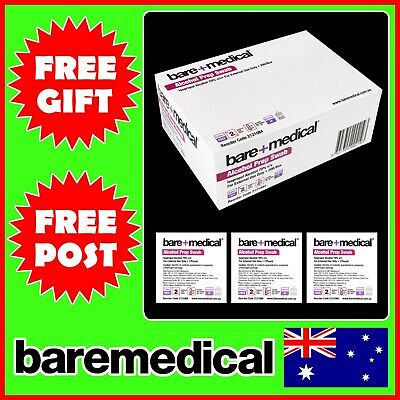 Alcohol Swab Pads Wipes 100 200 50 25 Sterile Medical Skin Prep 70% Isopropyl