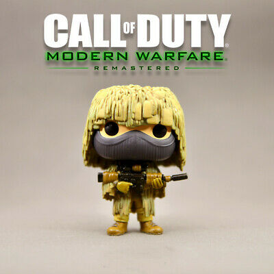Funko Pop Call of Duty All Ghillied Up #144 Vaulted no box