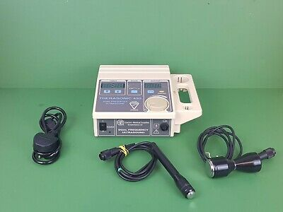 Ultrasound Unit EMS Therasonic 450 Dual Frequency+Large&Small Heads 1&3 Mhz