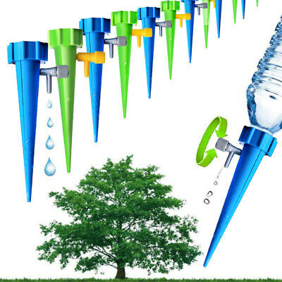 NICE 12Pcs Irrigation Self-Watering Flower Plant Set Device Spike Automatic Tool