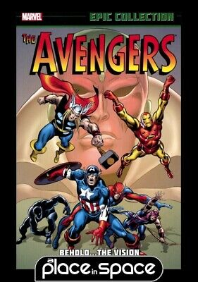 Avengers Epic Collection Behold Vision  - Softcover