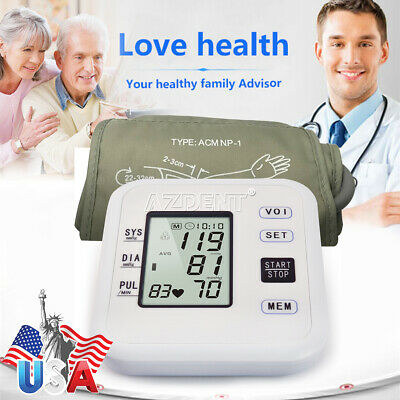 Medical Health Automatic Wrist Blood Pressure Monitor with EnglishVoice Function