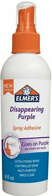 Elmers Adhesive Spray 8oz Disappearing Purple Glue Forms an Ultra Strong Bond