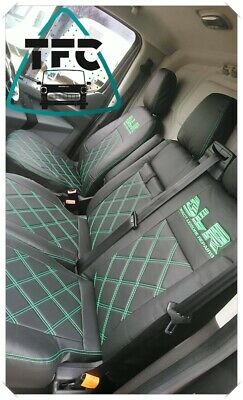 Eco-Leather Tailored Seat Covers 2+1 For FORD TRANSIT 2006-2013