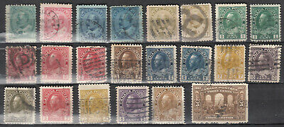 Canada Selection of Early 1900's