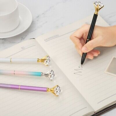 Diamond Head Crystal Ballpoint Pen Concert Creative-Pen Stationery Student Gift