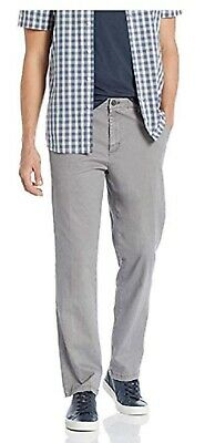 3fd3d7d15725e8 IZOD MEN'S SPORTFLEX Straight Fit Flat Front Non-Iron Stretch Chino ...