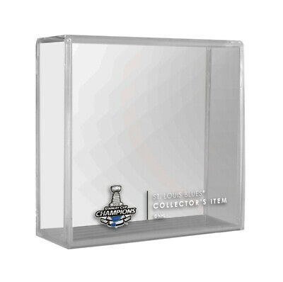 2019 ST LOUIS BLUES Stanley Cup Champions NHL Hockey Puck Case - Cube (Empty)
