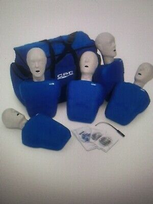 CPR Prompt 7 Packs: 5-Adult/Child Pack BLUE With Update Feedback Kits Update