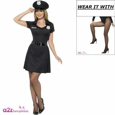 size Amscan Rita Dem Rights Police Officer Ladies Fancy Dress Costume Small