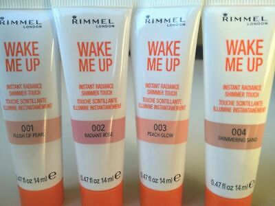 Rimmel Wake Me Up Instant Radiance Shimmer Touch - Choose Shade
