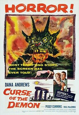 """Vintage /""""Curse of the Werewolf/"""" Horror Movie Film Poster Print Picture A3 A4 A5"""