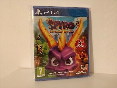 Spyro The Dragon: Reignited Trilogy (PS4) *New in a Plastic Protector*