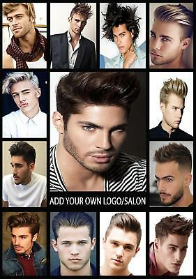 Barbers Shop Hairdresser Hair Salon advertising add text poster A2, A1, A0 size