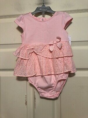 c0b62bff3 NWT Infant Girls One Piece Outfit By Just One You Made By Carters Size 18  Months