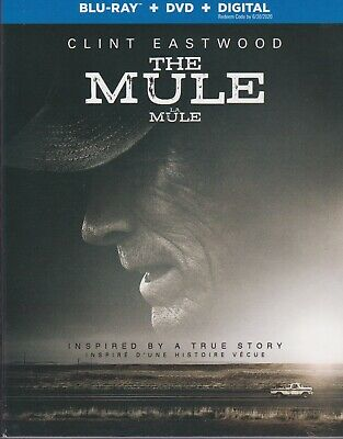 THE MULE BLURAY & DVD & DIGITAL SET with Clint Eastwood & Bradley Cooper