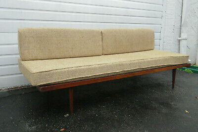 MID CENTURY MODERN Sofa Couch Daybed Settee 9765