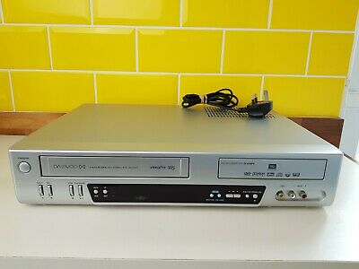 Daewoo DF-4700PN DVD Recorder VCR Cassette Recorder Player Combo