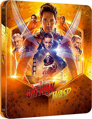 Ant-Man And The Wasp - 4K Ultra HD Zavvi Exclusive Lenticular Steelbook Marvel