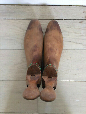 Antique Solid Wood Men's Shoe Trees For Boots