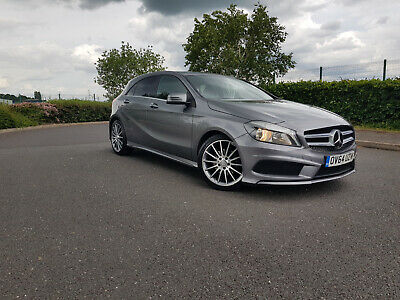 2014 MERCEDES-BENZ A180 BLUE-CY AMG SPORT CD 5 Door DAMAGE REPAIRABLE SALVAGE