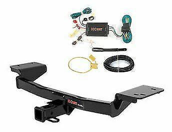 13066 /& 56251 CURT Class 3 Trailer Hitch Bundle with Wiring for 2011-2015 Kia Sportage
