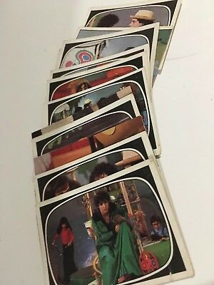 Panini Lot Stickers X4 - L'île Aux Enfants - 1976 - Original
