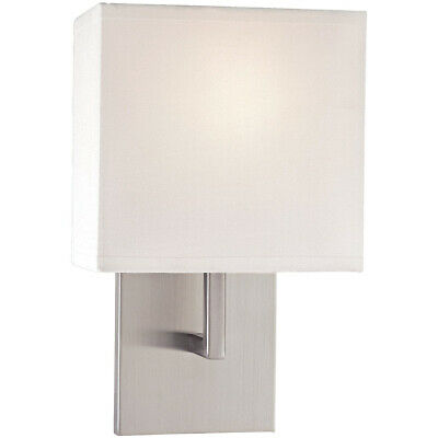 George Kovacs P470-084 Signature Wall Sconce Brushed Nickel