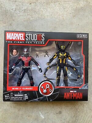 """Marvel Legends 6"""" MCU Studios the First Ten Years Ant-Man Yellow Jacket New Mint"""