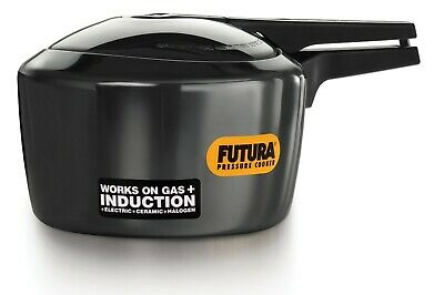3 Litre Hawkins Futura Hard Anodised Pressure Cooker – Induction Compatible