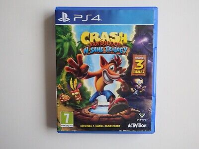 Crash Bandicoot: N>>Sane Trilogy on PS4 in VERY GOOD Condition (Disc MINT)