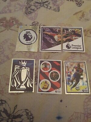 Panini Tabloid Premier League Special Edition 50 Different Stickers (Free P@P)