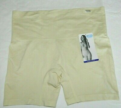 JKY By Jockey Women's Slimming Shorts Sandy Size Large Microfiber Stretch