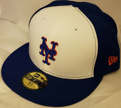 hot sale online 9c95a 14cf1 NWT NEW ERA New York METS 59FIFTY size 7 3 4 fitted baseball cap hat