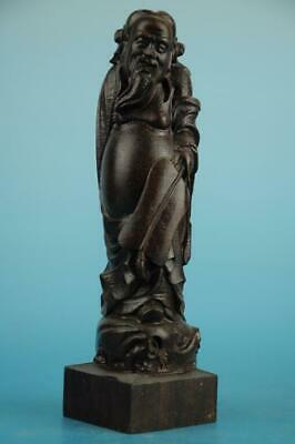 Chinese eaglewood hand-carved One of the eight immortals immortal Statue