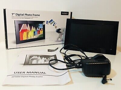 Digital Photo Frame 7 Inch With Box And Charger- See Description