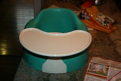 Bumbo Baby Floor Seat, Turquoise, and Removable Bumbo Play Tray w Safety Strap
