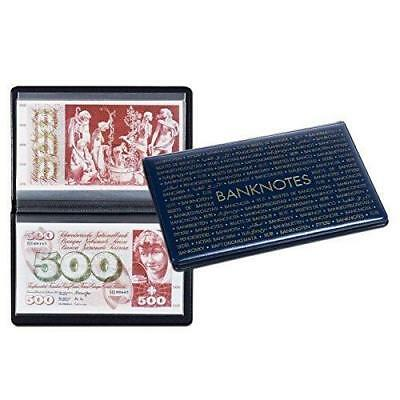 Lighthouse Pocket Banknote Album For 20 Notes Up To 210mm x 125mm