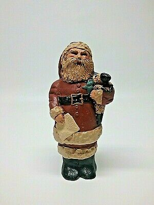 Doris William Heirloom Collection folk art primitive style Santa Claus Christmas