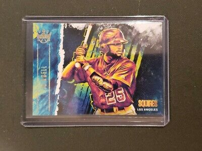 2019 Panini Diamond Kings Jo Adell Rc Holo Gold SP Squires Rookie  Los Angeles