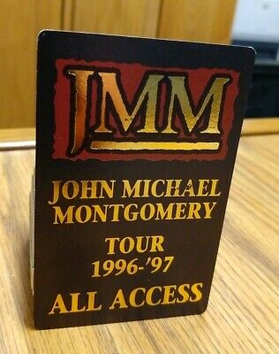 Backstage Passes, Concert Memorabilia, Country, Music